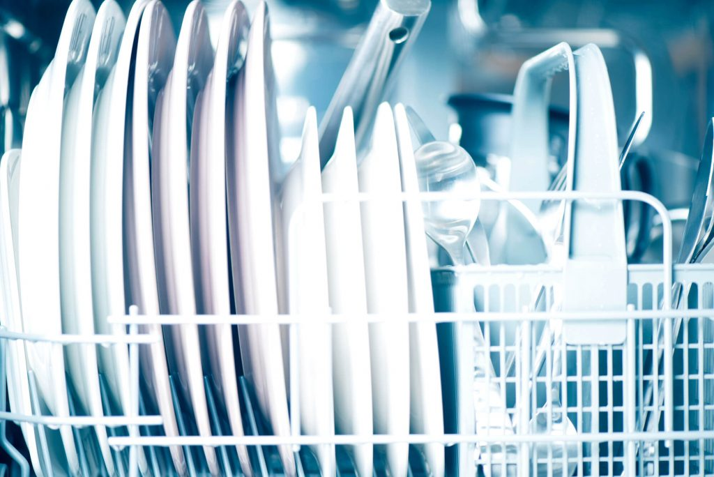 using dishwasher as time saving hack